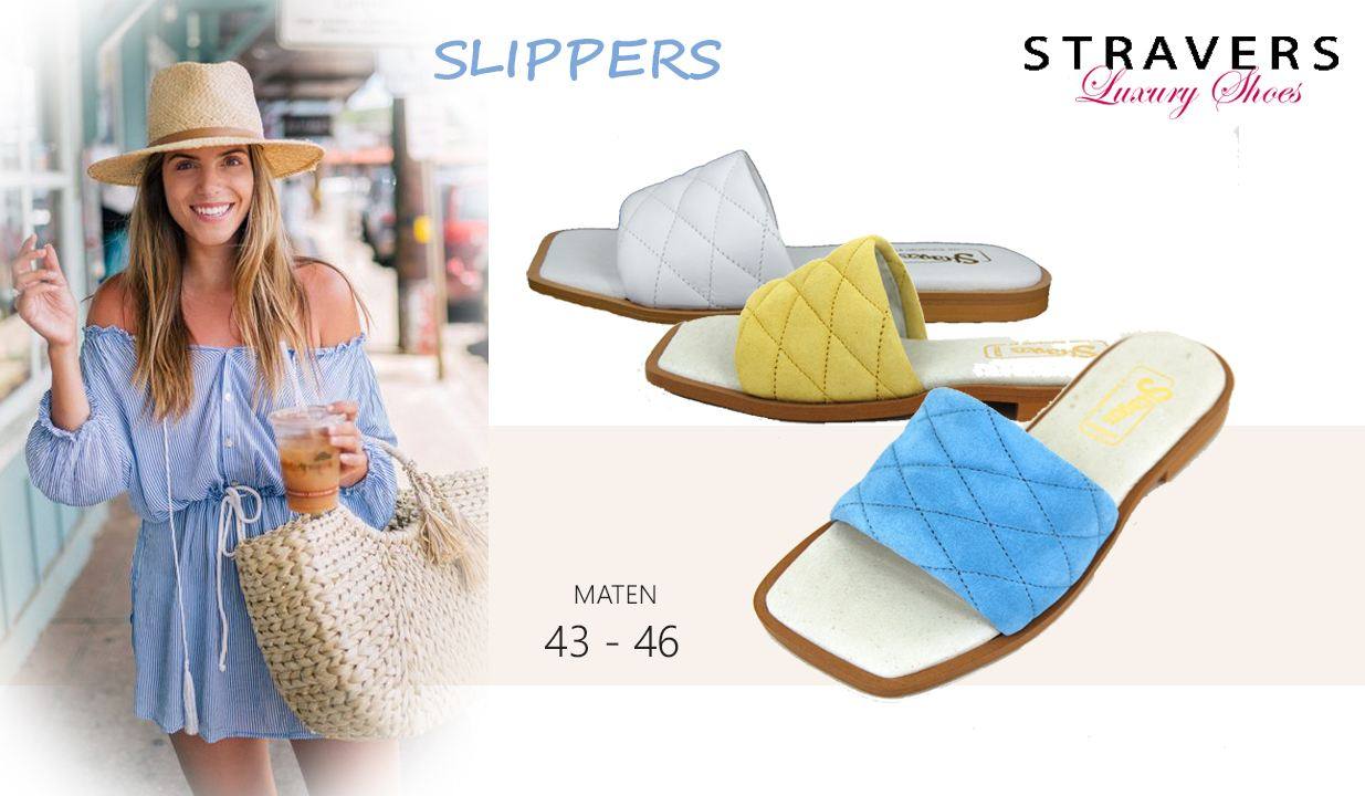 Sandalen & Slippers in grote maten