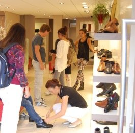 Het Stravers Shoes team in actie