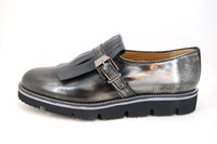Loafers met franje - zwart in kleine sizes