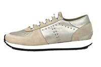 Fashion Sneakers dames - beige in grote maten