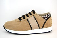 Stijlvolle Sneakers Dames - beige in kleine sizes