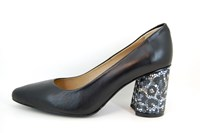 Van Gogh pumps - zwart in kleine sizes