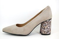 Van Gogh pumps - beige in grote sizes