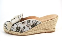Espadrilles sleehak - beige in grote sizes