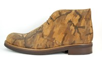Desert Boots - Camouflage in kleine sizes