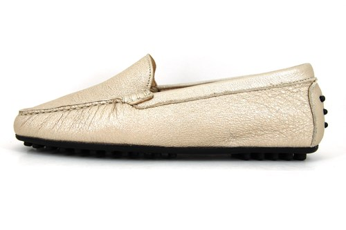 bdce3b28094 Italiaanse mocassins - champagne | Grote Maten | Instappers ...