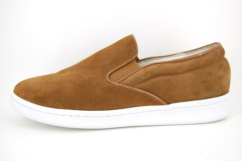 Slip-On Sneakers - cognac