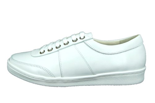 Stravers sneakers heren - wit leer